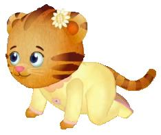Image result for daniel tiger's sister