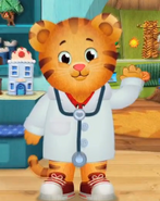 Daniel doctor outfit