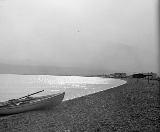 North beach of dead sea