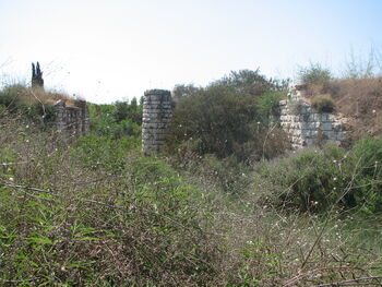 Old Rail Bridge kfar ginis