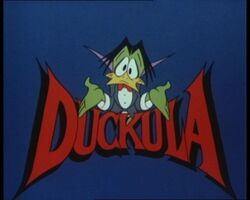 Count Duckula Title