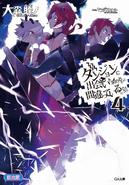 DanMachi Light Novel Volume 4 LE Cover