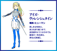 Aiz Valenstein Sword Oratoria
