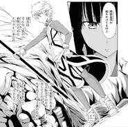 Finn Deime and Tione Sword Oratoria Manga