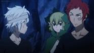 Bell, Ryuu, and Welf