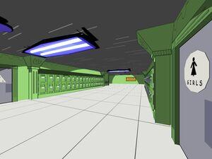 Casper High Hallway