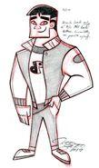 SC Kwan Profile 1 Sketch