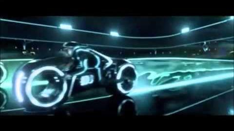 Tron Legacy Light Cycle Battle Daft Punk Music Video