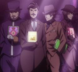 Viola's suitors (2)