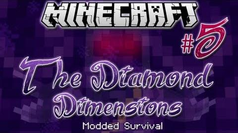 """THE WATCHER"" Diamond Dimensions Modded Survival 5 Minecraft"