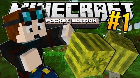 Minecraft Pocket Edition MELON JUNGLE!! 1
