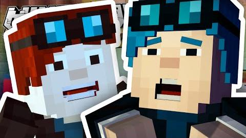 Minecraft Story Mode I'M IN THE GAME?! Episode 6 1