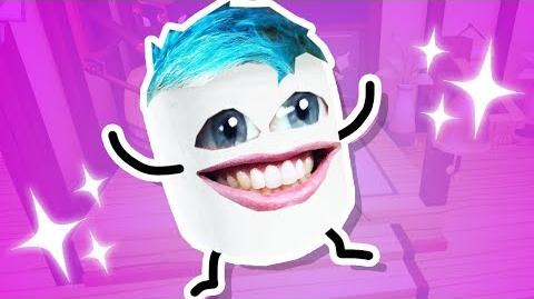 I became a MARSHMALLOW!