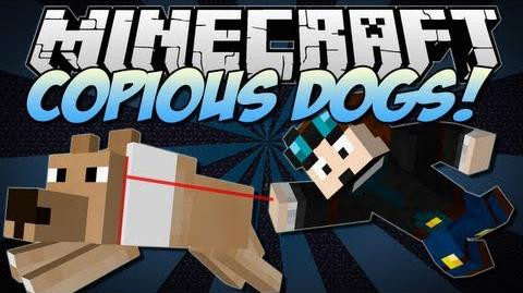 Minecraft COPIOUS DOGS! (Puppies & Better Breeds in Minecraft!) Mod Showcase 1.6.2