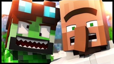 DanTDM Animated HOW TO BE A CREEPER!!! (Minecraft Animation)
