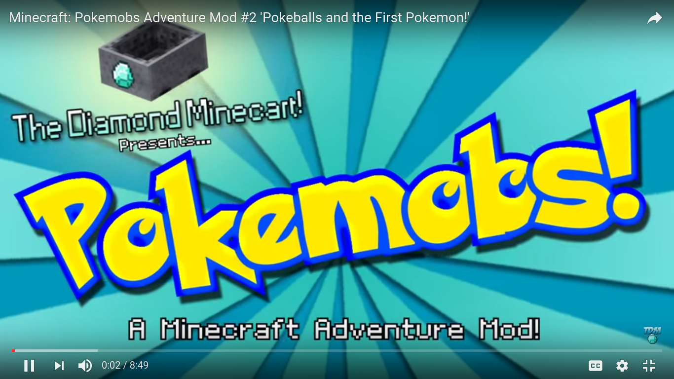 the diamond minecart mod videos