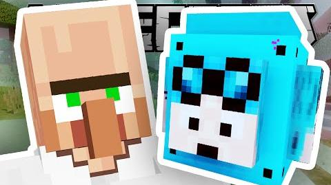Minecraft Lab DANTDM LUCKY BLOCK EGGS!!
