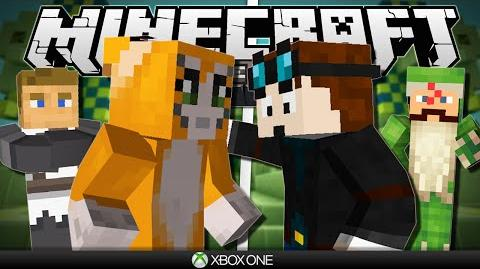 Minecraft Xbox Hunger Games vs Stampy & Friends!