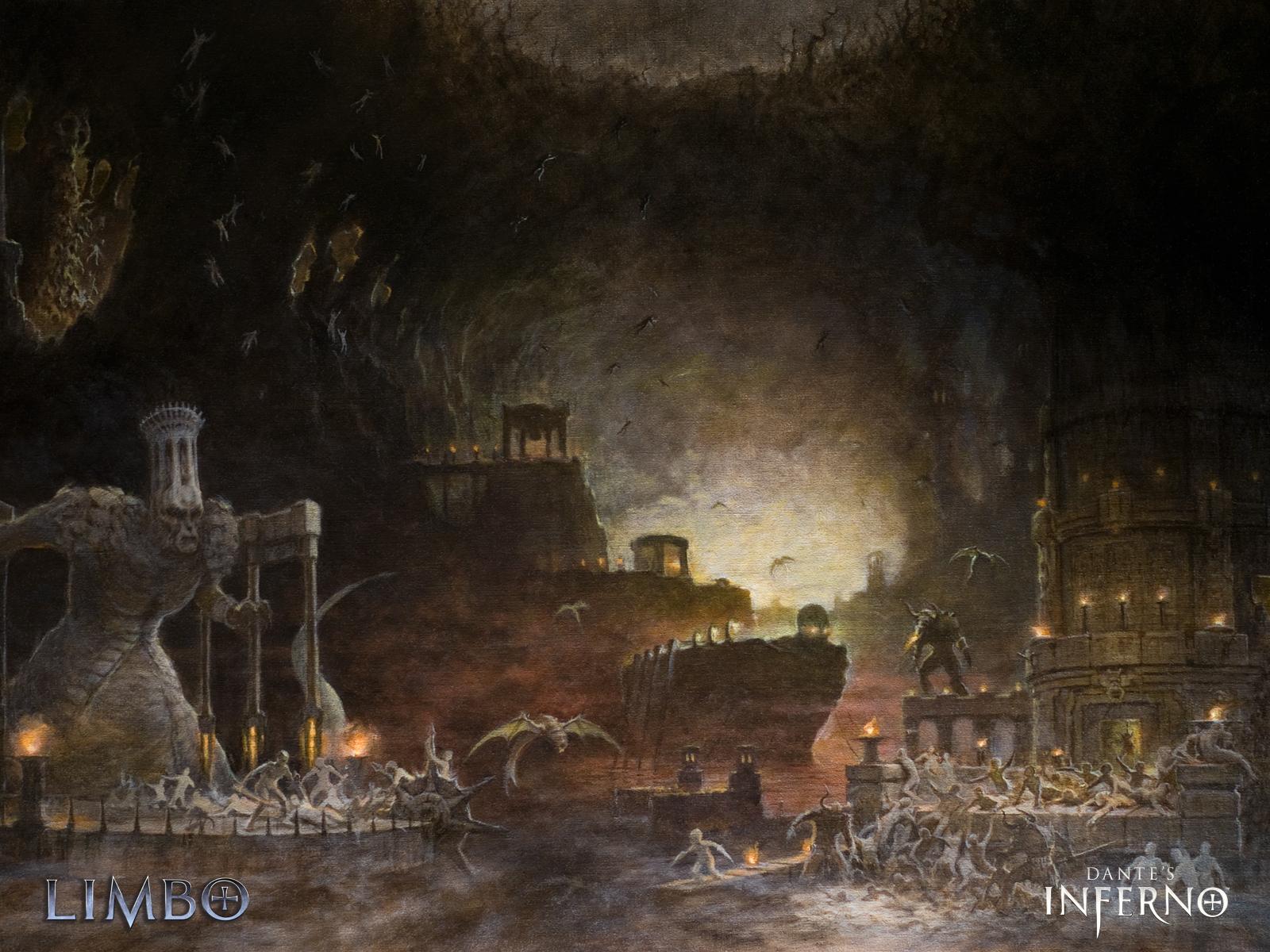 fantasy art Dantes Inferno Wallpapers HD Desktop and Mobile