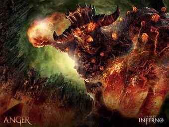 Anger Dante S Inferno Wiki Fandom