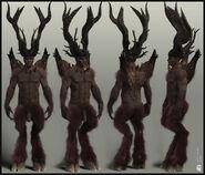 Dantes Inferno - Lucifer Model 360 View