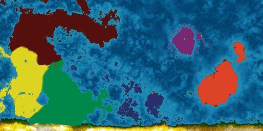 Map political