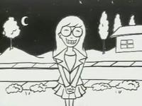 Daria grinning