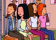 Daria Fashion Club - Stacy, Tiffany, Sandi, Quinn
