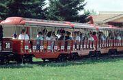 Darien Lake train ride