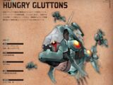 Hungry Gluttons