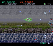 Darius Force - Zone B Surface