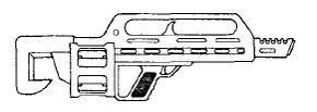 Sidearm 20mm Grenade Launcher