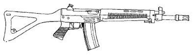 Sidearm Assault Rifle