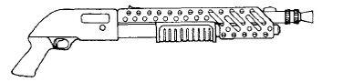 Sidearm Pump Action Shotgun