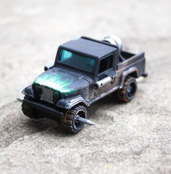Long Wheel Base (Tiny Wars kid)