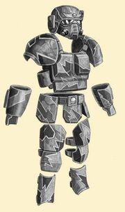 Kasrkin carapace armour