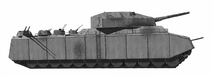P1000 ratte scale model