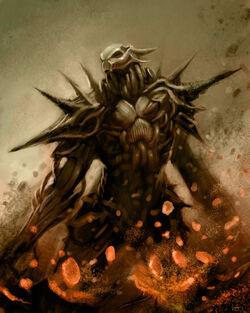 Demon Warrior by ProjectHybrid