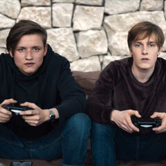 Bartosz and Jonas gaming