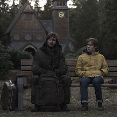 The Stranger visits Jonas