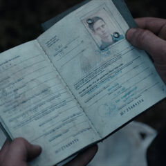 Aleksander Köhler's passport.