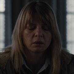 Katharina in distraught.