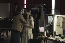 DARK Still 106 - Bartosz and Martha kiss
