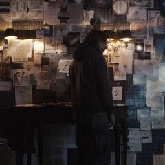 The Stranger at his wall