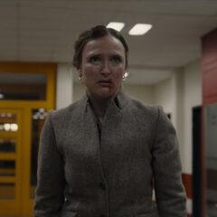 Regina bloodied