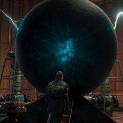 Jonas enters the portal