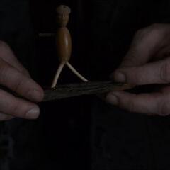 Helge's stick figure