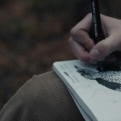 Charlotte's sketches