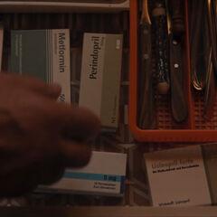 Egon's medications