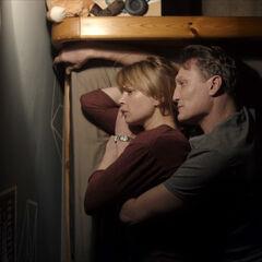 Katharina and Ulrich spooning